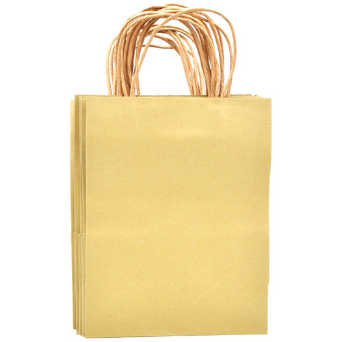 Brown Medium Kraft Paper Gift Bag