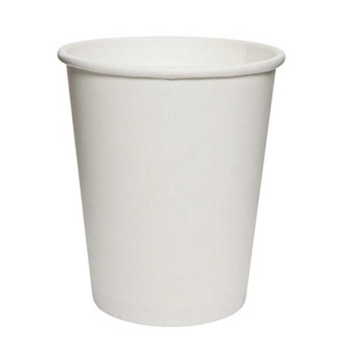 Disposable 8 Oz White Paper Cups 50pcs/pack