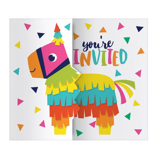 Fiesta Fun Gatefold Invitation