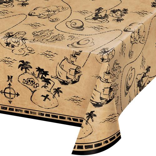 Pirate Treasure Plastic Tablecover
