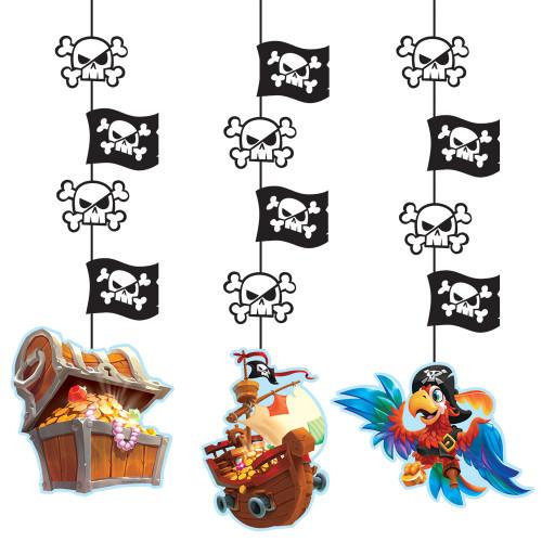 Pirate Treasure Hanging Cutouts