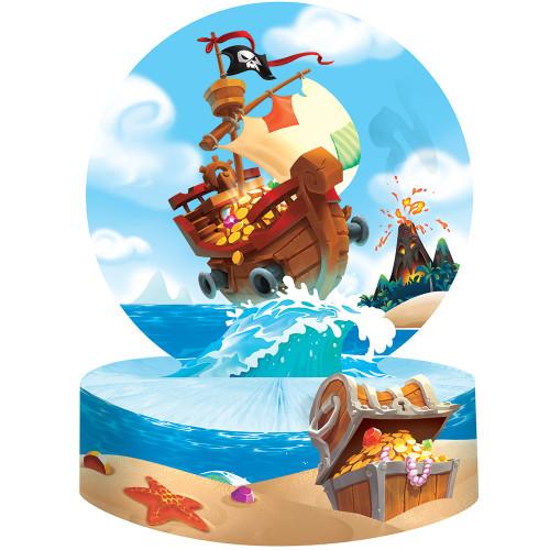 Pirate Treasure Honeycomb Centerpiece