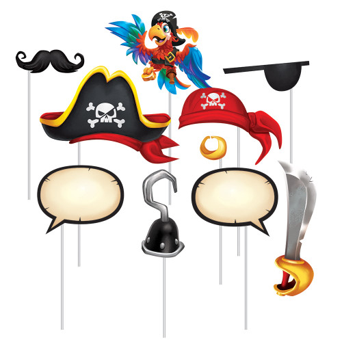 Pirate Treasure Photo Booth Props