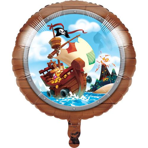 """18"""" Pirate Treasure Foil Balloon"""