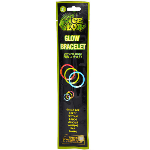 Glow Stick Bracelet 3pcs/pack