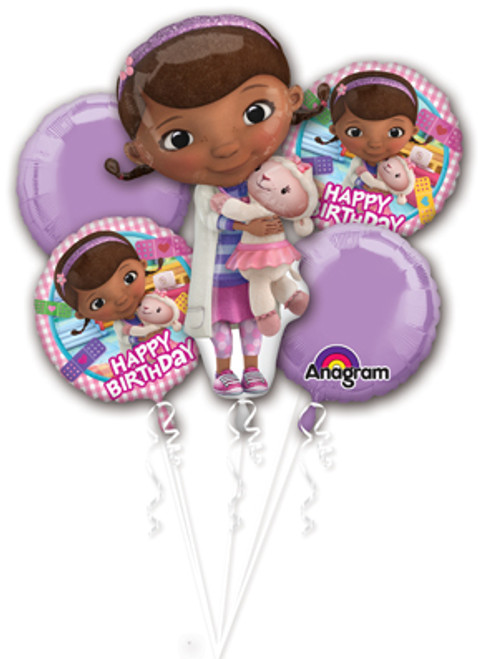 Doc McStuffins Birthday Balloon Bouquet