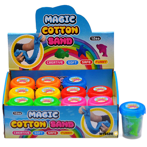 Magic Cotton Sand with Mold 12pcs/box