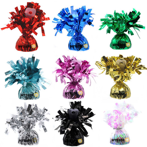 100g Foil Balloon Weight available in 9 colors