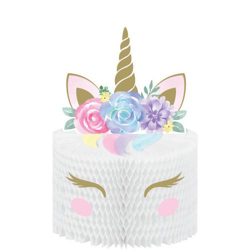 Unicorn Baby Honeycomb Centerpiece