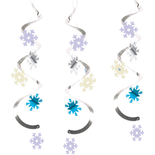 Snowflakes Dizzy Danglers