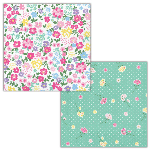 Floral Tea Party 2-Sided Lunch Napkins