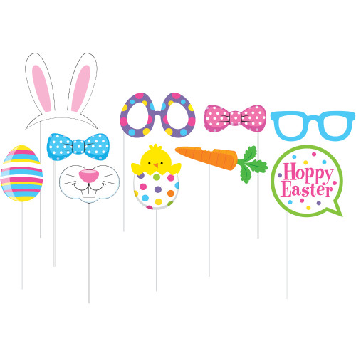 Easter and Spring Photo Booth Props