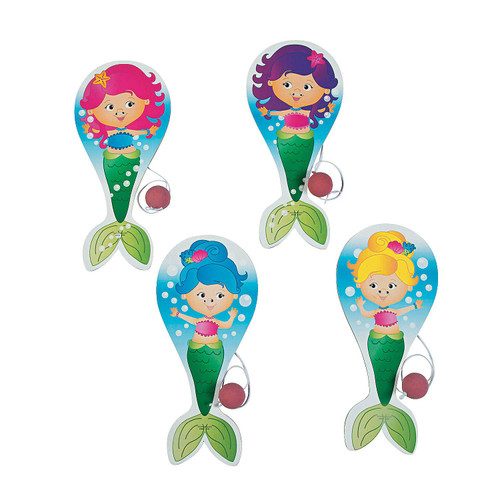 Mermaid Paddle Ball 1pcs