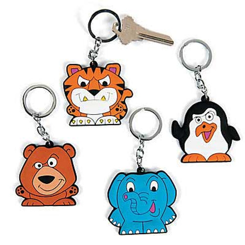Cool Zoo Vinyl Keychain 1pcs/pack