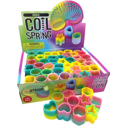 Mini Shapes Rainbow Magic Spring 100pcs/box