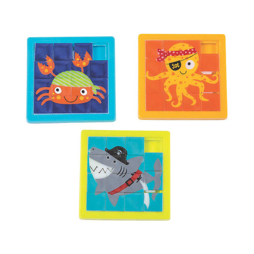 Space Slide Puzzles 12pcs/pack