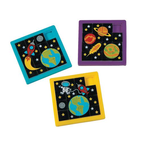 Space Slide Puzzles 12pcs/pack