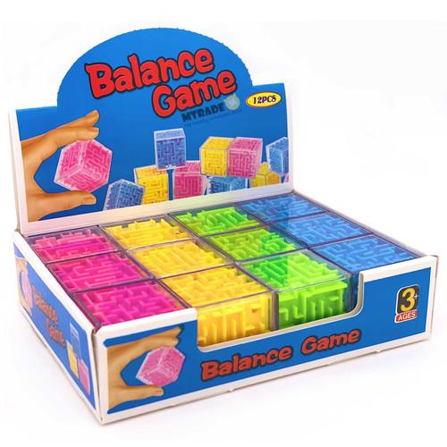 Mini Maze Puzzle Cube 12pcs/box