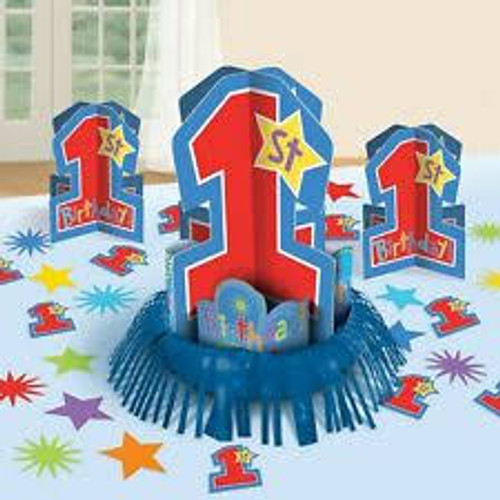 One-derful Birthday Boy Centerpiece Kit