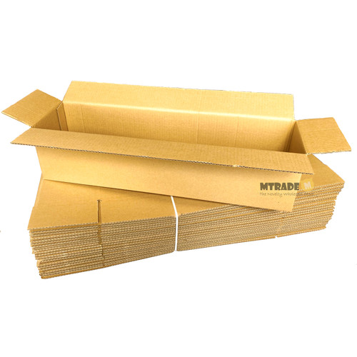 Single Wall Carton Boxes (60 x 15 x 15cm) 20pcs/pack