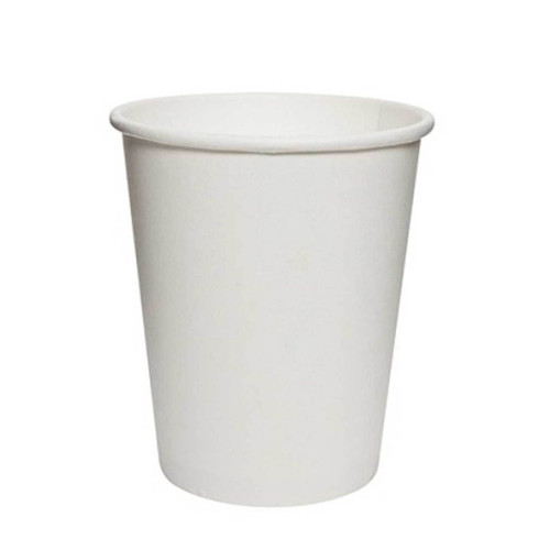 Disposable 7 Oz White Paper Cups 50pcs/pack