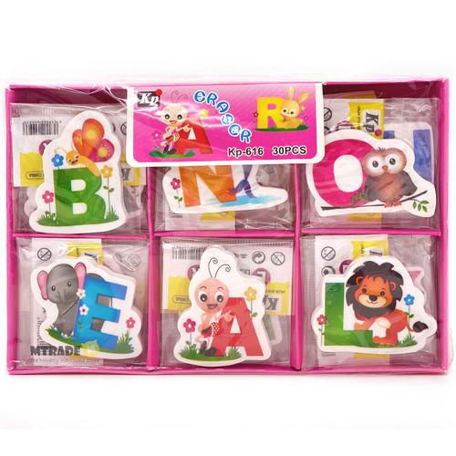 ABC Eraser 30 pcs/box