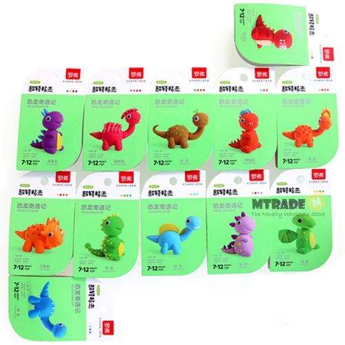Dinosaur Light Clay 12set/box