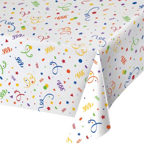 Confetti Plastic Tablecover