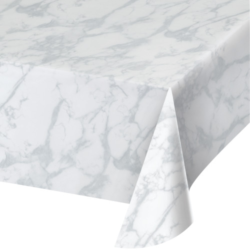 Marble Plastic Tablecover
