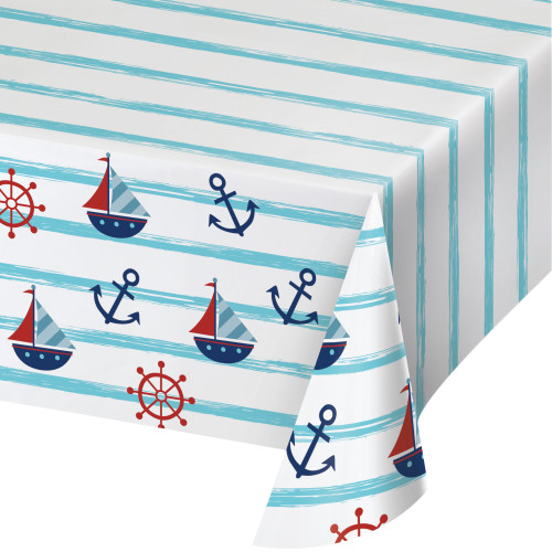 Nautical Baby Paper Tablecover