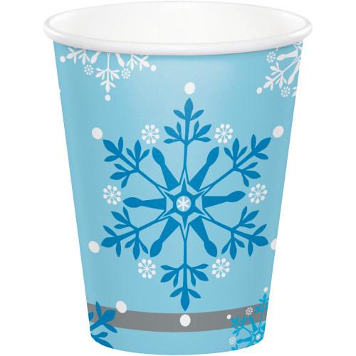 Snow Princess 9 oz Paper Cups