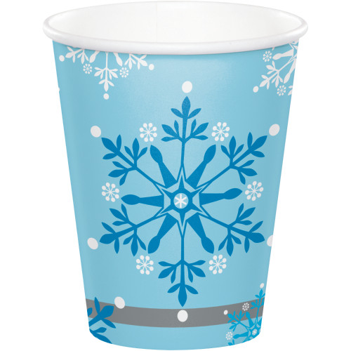 Snow Princess 9 oz Paper Cups