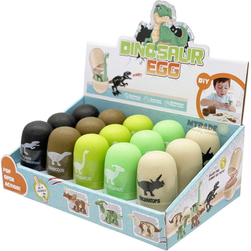 Dinosaur Egg Figure Puzzle Toy 15pcs/box