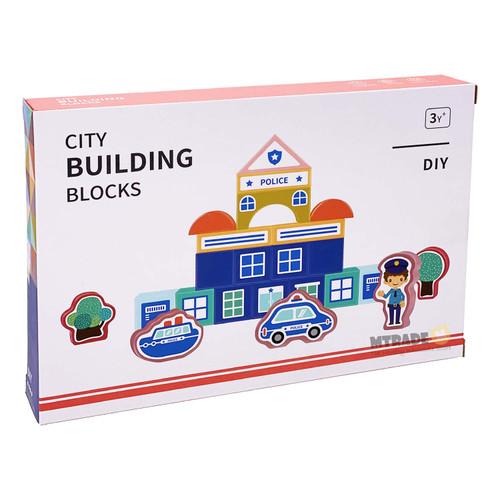 City Building Blocks Set