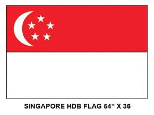 HDB Singapore Flag