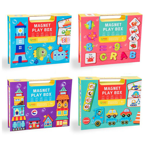 Puzzle Magnet Play Box