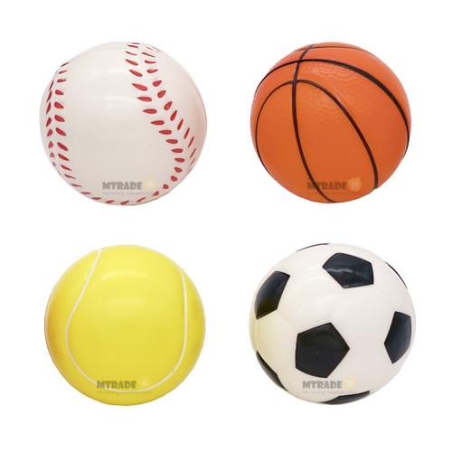 Sports Stress Ball Assorted Design 1pcs/pack