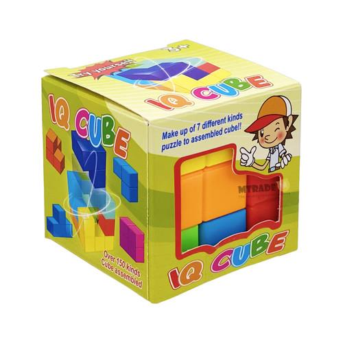 3D IQ Cube Puzzle
