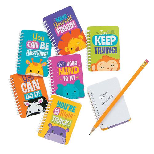 Jungle Mini Spiral Notebooks