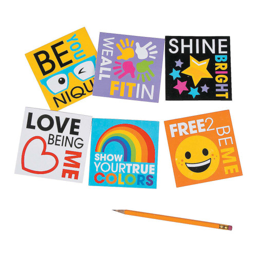 Be You Notepads 24pcs/pack