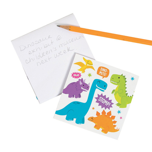 Trendy Dinosaur Notepads