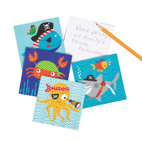 Pirate Animals Notepads