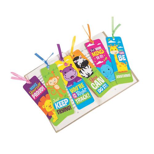 Laminated Jungle Bookmarks