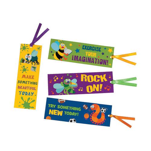 Laminated Playful Bug Bookmarks