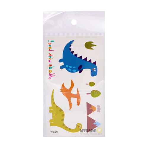 Cute Dino Tattoos 30 sheets/pack