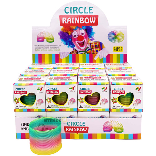Rainbow Magic Spring Toy 24pcs/box