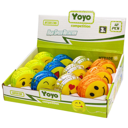 Smile Face Yo Yo 12pcs/box