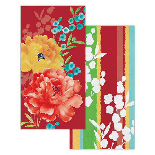 Beautiful Blossoms 2-Sided Napkins