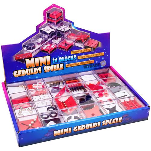 Mini Geduldspiele Balance Puzzle Game 24pcs/box