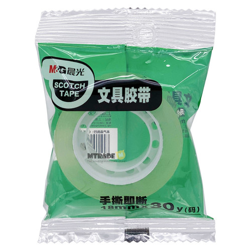 Crystal Clear Tape 18mm x 30 yards